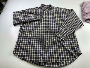Polo Ralph Lauren Men's Blake Plaid Long Sleeve Button Down Shirt Size XXL