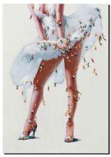 FAVOLOSO ENORME unico Marilyn Monroe art. a muro 3D 200 x 140 cm