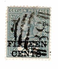 Ceylon '39' postmark (77)
