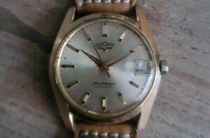 Vulcain Meteor Automatic watch vintage