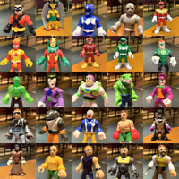 """Up to 100 IMAGINEXT Power Rangers DC Super Friends 2.5"""" figure collection toy"""