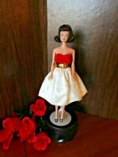 VINTAGE BARBIE OUTFIT SILKEN FLAME WITH BELT SHOES AND BAG