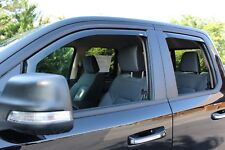 4-Piece In-Channel Wind Deflectors for 2019 Dodge Ram 1500 Quad Cab