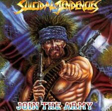 SUICIDAL TENDENCIES - JOIN THE ARMY CD ~ METAL ~ POSSESSED TO SKATE CD *NEW*