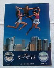 A372-Advertising Pubblicità-2000-OZONE SERGIO TACCHINI - PROFUMI