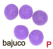 Filzkugeln lila 20 mm - 4 Stück