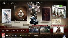 Assassin's Creed III 3 Freedom Edition PLAYSTATION 3  PS3  nuovo