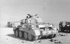 WW2 Photo Captured British Tank N. Africa WWII Germany