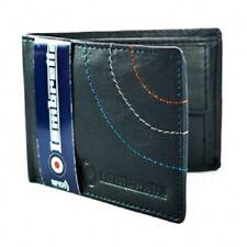 Lambretta Wallet - Lambretta Men's Fold Over Leather Wallet Navy
