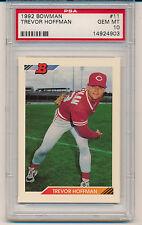 1992 Bowman Trevor Hoffman (HOF) (Rookie Card) (#11) PSA10 PSA
