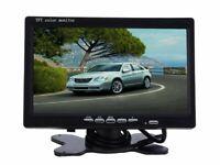 Monitor LCD 7.0 Pollici Con Telecomando 2 Ingressi AV Auto Per Videosorveglianza