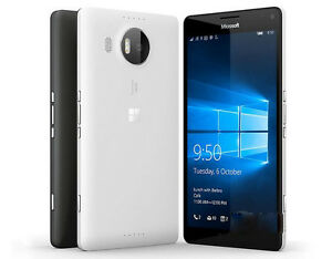 Unlocked Microsoft Lumia 950 Single SIM 3G 4G Wifi 20MP Windows Smartphone 5.2""