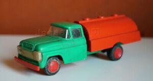 Mexican Vintage MOLYTRO Plastic Delivery Gas Pipe Truck Pemex Mexico 1960s