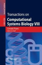 Transactions on Computational Systems Biology VIII (Lecture Notes in Computer