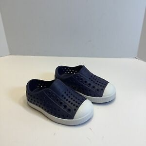Native Shoes Baby Jefferson Blue White C4 4, New No Box