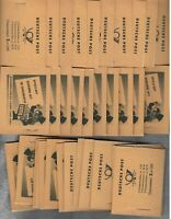 GERMANY DDR MNH n 50 complete booklets as per 6 scans  s32424