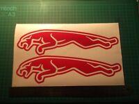 Jaguar Logo.. car vinyl decal sticker ....x2..