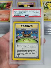 Lucky Stadium 100//105 Neo Destiny Uncommon Trainer Card