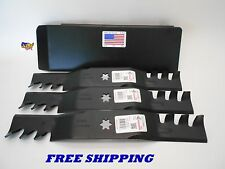 TROY BILT MUSTANG 50 ZERO TURN MOWER MULCH KIT PLUG/BLADES  2002-2013
