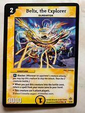 Duel Masters DM11 8/55 RARE Belix the Explorer Blastosplosion of Gigantic Rage