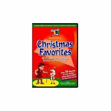Christmas Favorites On DVD With Cedarmont Kids Brand New D97