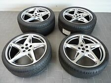 "FERRARI F142 458 20"" WHEEL SET, ALLOY WHEELS WITH TYRES WHEEL SET, RIMS CHROME"