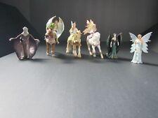 Schleich Bayala Fairy lot- 6 Fairies - 3 Horses-Menatea, Surah, Feya,Sera Eyela