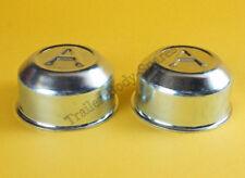 FREE UK POST 2 x 60mm Avonride Metal Grease Wheel Hub Dust Cap to fit Type R Hub
