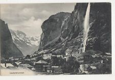 Switzerland, Lauterbrunnen Postcard, B203