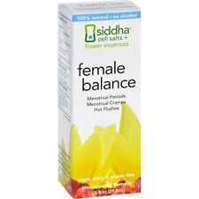 Siddha Flower Essences Female Balance - 1 FL Oz