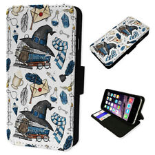 Wizard Accessories Blue - Flip Phone Case Wallet Cover Fits Iphone 6 7 8 X 11