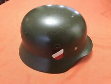German Wwii Steel Helmet w/ Reproduction Additions - Please see Photos