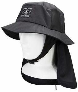 Oneill Eclipse Black Surf Hat
