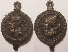 Allemagne - Naumburg Médaille satirique du Pape 1543, Rare !!
