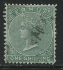 Bermuda QV 1894 1/ green perf 14 by 12 1/2 used (JD)