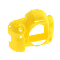 For Canon 80D Camera Silicone Protector Cover Case Skin Holder Soft Yellow