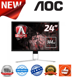 "AOC AGON AG241QX 23.8"" 2560x1440 1ms VGA/DVI-D/HDMI/DP/USB Multimedia Monitor"