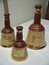 a set of three wade whisky bells