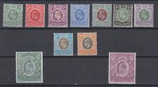 SOMALILAND PROTECT 1904 KING EDWARD VII DEFINITIVES TO 2 RUPEE MINT HINGED
