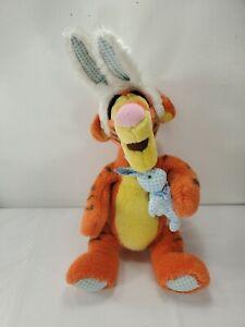 Disney Tigger Easter Plush Bunny With Ears Stuffed Animal Bean Bag
