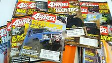Petersens 4 Wheel And Off Road Magazine Back Issues 2004-05 Lot Of  18