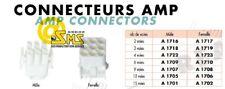 CONNECTEUR PRISE Male 9 Voies TE CONNECTIVITY AMP MAT N LOCK Pas de 6.35 mm