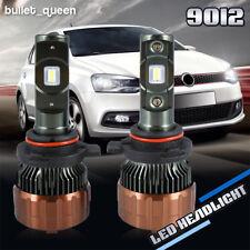 9012 HIR2 1500W 225000LM Mini LED Headlight Kit High Low Beam Bulbs 6000K White