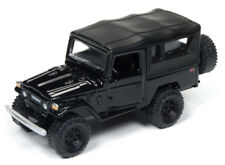 1/64 JOHNNY LIGHTNING CLASSIC GOLD 1980 Toyota Land Cruiser in BLACK