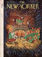 1949 New Yorker July 30 - Story Time at Camp Nomopo - Bemelmans