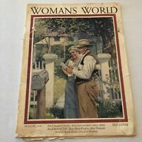 WOMAN'S WORLD MAGAZINE August 1925 VINTAGE WOMEN'S INTEREST FASHION FICTION