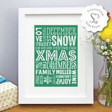 Christmas Photo & Picture Clip Frames/Frameless Frames