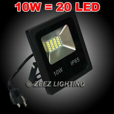 10W Warm White LED Flood Light Outdoor Security Garden Landscape Wall Spot Lamp