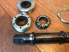 Shimano 600 square taper bottom bracket (ITALIAN 36 x 24). BB-6400. 115mm