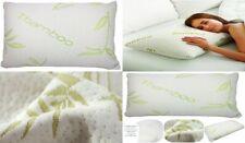 Bamboo Memory Foam Pillow Anti Bacterial & Allergenic Shredded Memory Foam New
